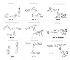 ma routine sport en hiver 30 minutes 3 fois par semaine