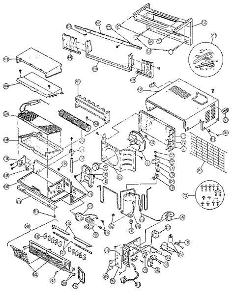 panasonic air conditioner parts list replacement parts diagram parts list for model hq5081dw1
