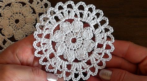 youtube tutorial crochet crochet motif 6 flower tutorial youtube