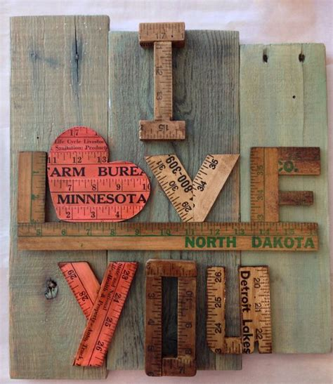 the backyard detroit lakes mn old yardsticks and pallet boards carefully keeping words