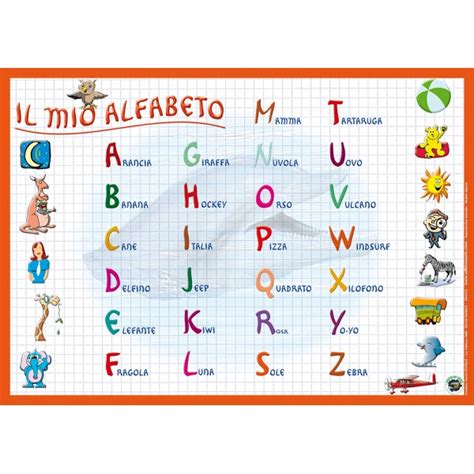 lettere per the gallery for gt alfabeto italiano per bambini