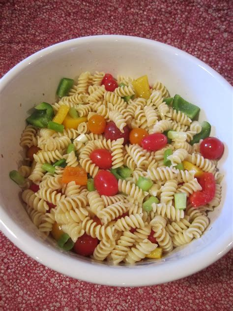 what is pasta salad wendys hat how to make a cold pasta salad recipe
