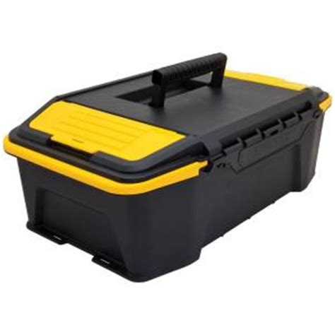 stanley 12 30 in click n connect tool box