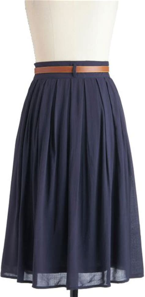swing dance skirts modcloth porch swing dance skirt in blue navy lyst