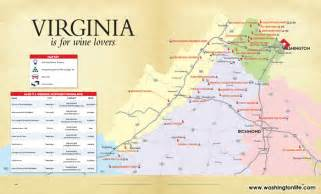 Virginia Wine Map by Wineries In Virginia Map Images