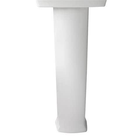 16 wide pedestal sink pedestal sink wyatt 24 inch pedestal lavatory by dxv