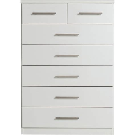 5 drawer chest argos buy home normandy 5 2 drawer chest white at argos co uk