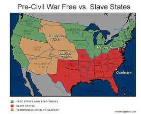 Map Of Slave States by Minor Inconveniences The Ideology Of Usa Little Change