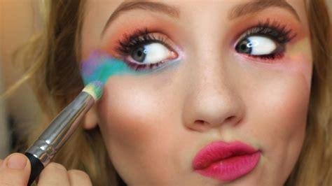 Makeup A simple unicorn makeup mugeek vidalondon