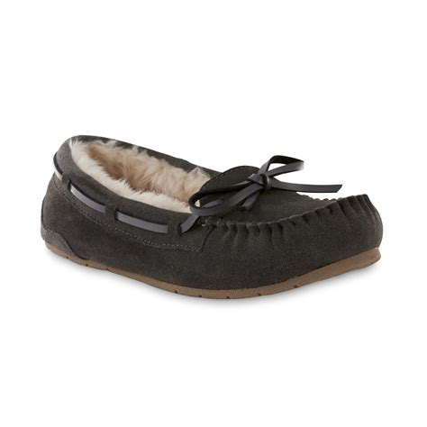 Bedroom Slippers At Kmart Womens Moccasin Slippers Kmart