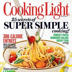 cooking light august recipe index cooking light