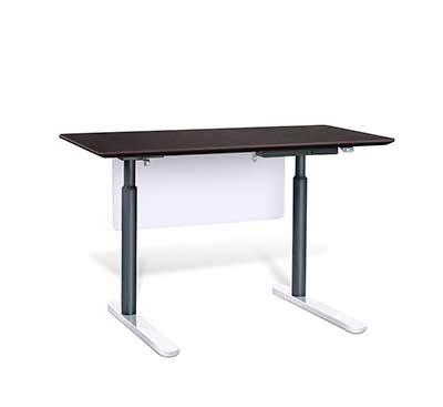 electric stand up desk electric stand up desk by unique furniture 7300 esp desks