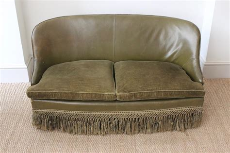 Spanish Leather Sofas by Circa 1950s Small Spanish Leather Sofa Leather Armchairs