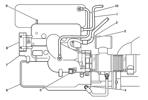 Schematic And Routing Diagrams Emission Hose Routing