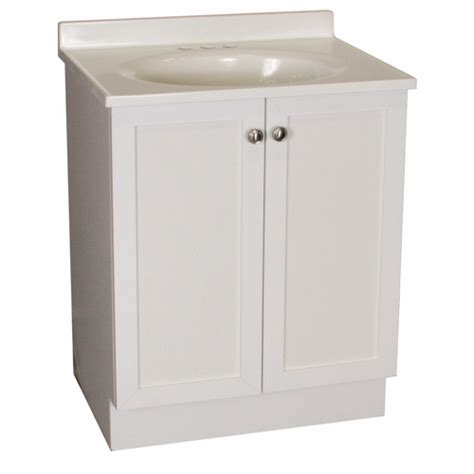 cheap rsi estate white bath vanity with sink counter