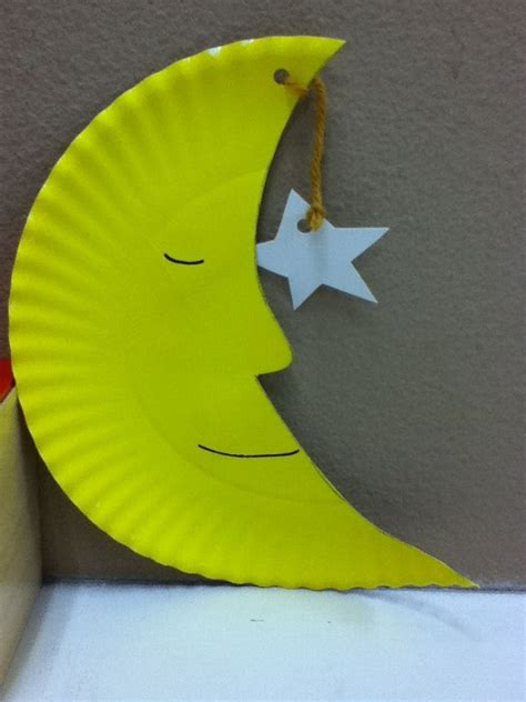 sun and moon crafts for 15 best photos of and moon paper plate craft paper