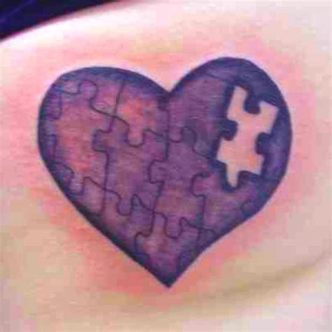 missing piece tattoo missing puzzle ink steel