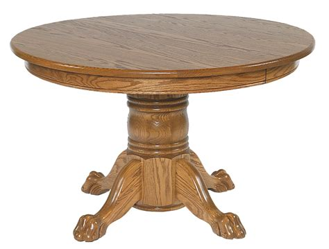54 x 54 table 54 x 54 single pedestal table amish furniture