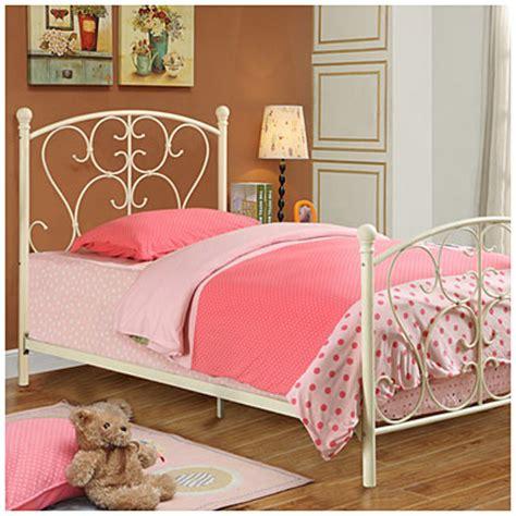 biglots beds twin scroll metal bed big lots