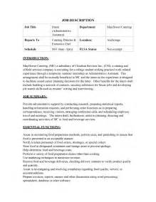 simple one page resume sle banquet server resume sle best format 2016 car