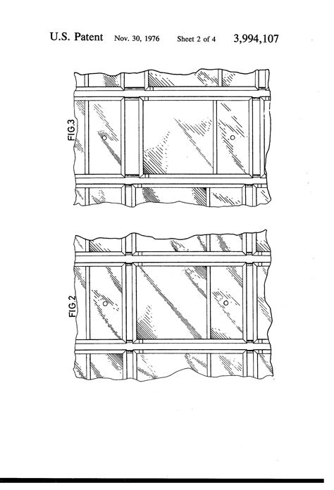 curtain wall structure patent us3994107 curtain wall structure google patents
