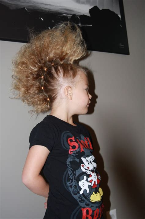 hairstyles to do for crazy hairstyles for kids top crazy it s crazy hair day