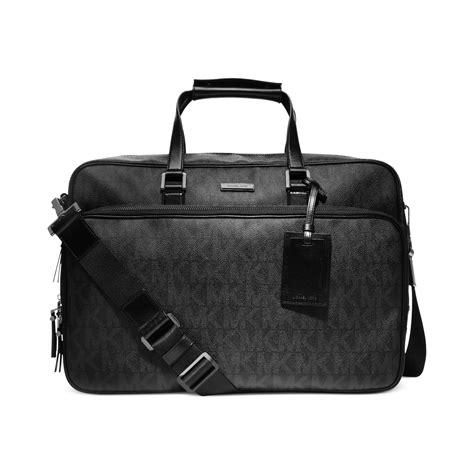 michael kors jet set travel carryon bag in black for