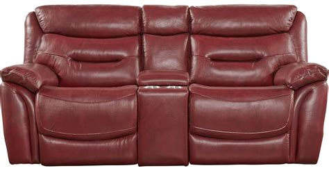 red leather loveseat recliner red recliner loveseat justin red leather recliner