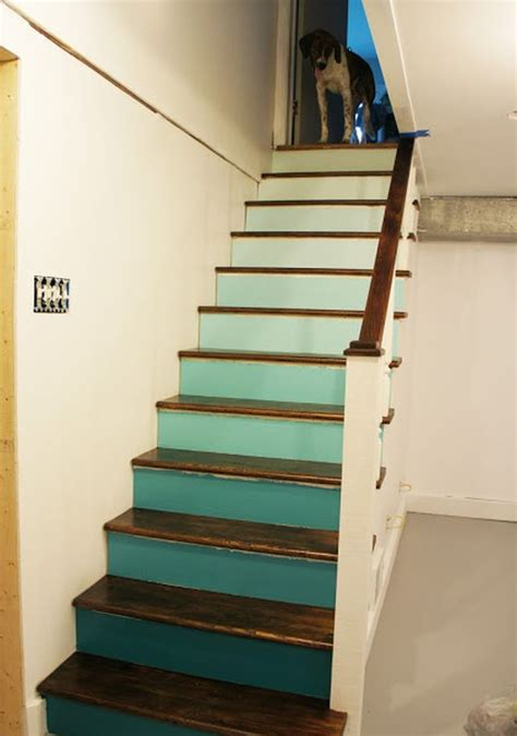 How To Paint Banister Decorative Stair Risers With Designs For All Tastes