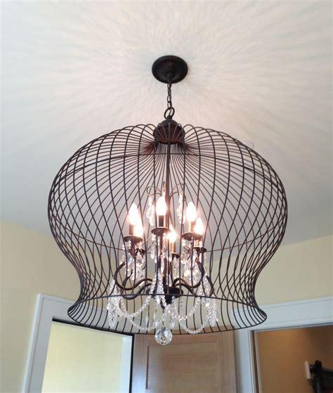 Bird Cage Light Fixture Light Up My Life Pinterest Cage Light Fixture