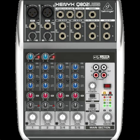 Behringer Q 802 Usb Mixer Audio behringer mixer xenyx 802 quot new in box for sale in