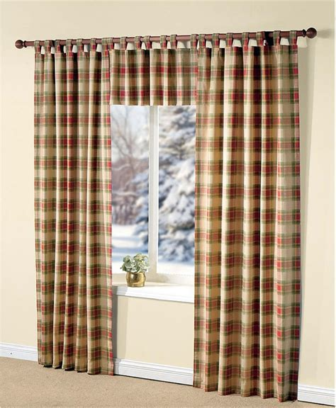 Curtains And Draperies Plaid Curtains Curtains Drapes Blinds And Shades Plaid Curtains Plaid And