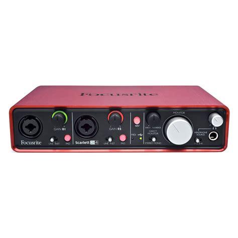 Usb Audio Interface focusrite 2i4 usb audio interface