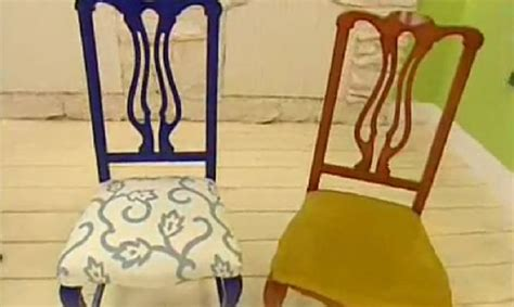 renovar  tapizar sillas de madera hogarmania