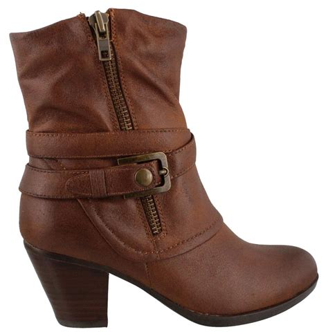 bare traps womens shoes bare traps arlyn boots womens ankle boots mid heel ebay