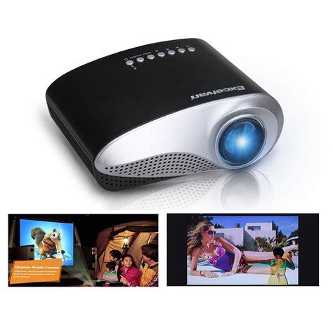 Proyektor Mini Home Theater portable mini home theater led lcd projector av usb vga