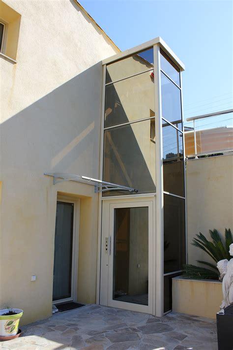Ascenseur De Maison Individuelle 4132 by Installation En Ext 233 Rieur D Un Ascenseur Privatif Dans Une