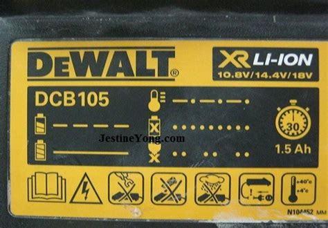 dewalt charger repair dead dewalt battery charger repaired model dcb105