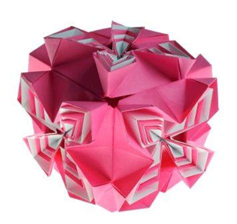 Complex Origami Flower - wood work japanese puzzle box pdf plans