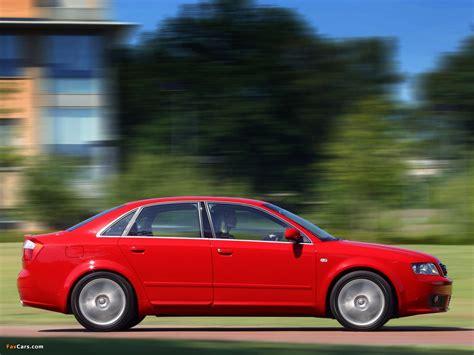 Audi A4 1 8t Specs by Audi A4 1 8t S Line Sedan Uk Spec B6 8e 2001 2004
