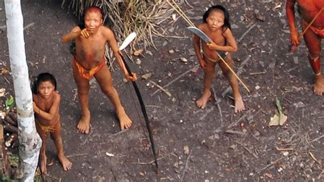 amazon tribe incredible footage of one of the world s last uncontacted