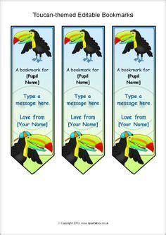 printable bookmarks sparklebox badger themed editable bookmarks sb9783 sparklebox
