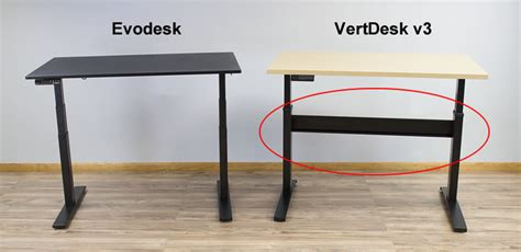 Cross It Help Desk by Evodesk Vs Vertdesk V3 Which Electric Stand Up Desk Is Best