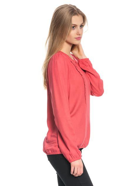 Vive Blouse vive ladylike bluse rot bekleidung shirts tops blusen