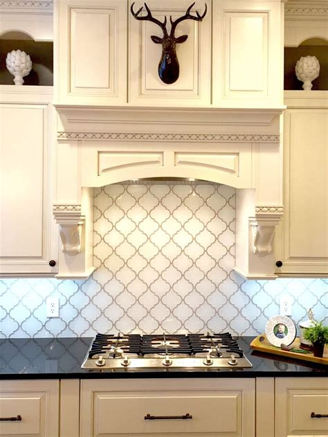 snow white arabesque glass mosaic tiles kitchen 17 best images about backsplash and tile installation