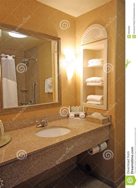 hotel bathroom sink area royalty free stock photo image
