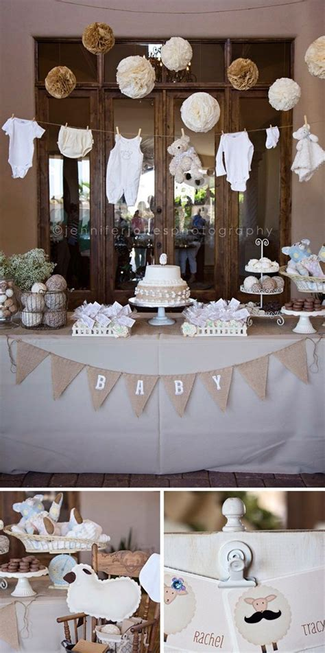 creative baby shower themes ideas baby shower