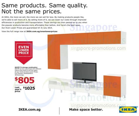 besta price besta tv storage combination even lower price 187 ikea new 2014 catalogue now available