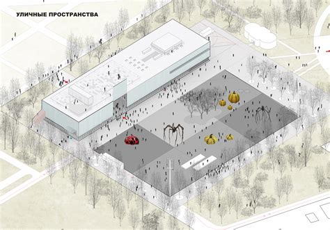 Garage With Apartment Plans quot garage quot museum in gorky park territory plan 169 oma form