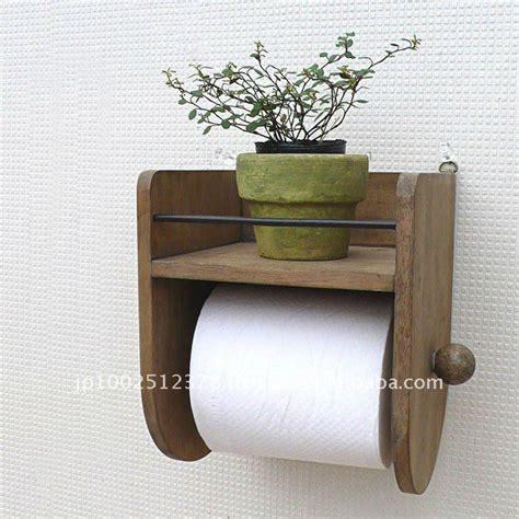 kabine badezimmerideen bathroom accessory wooden toilet paper holder 6 72 7